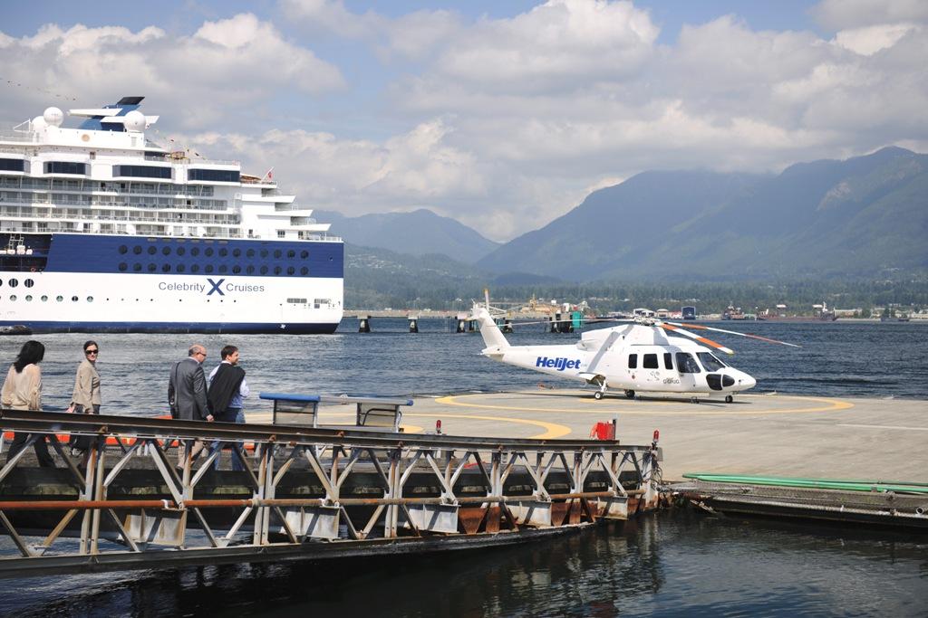 Вертолетная площадка.  «Тонкости туризма»