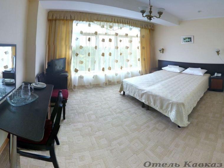 Номер «Стандарт». Фото: hotel-kavkaz.ru