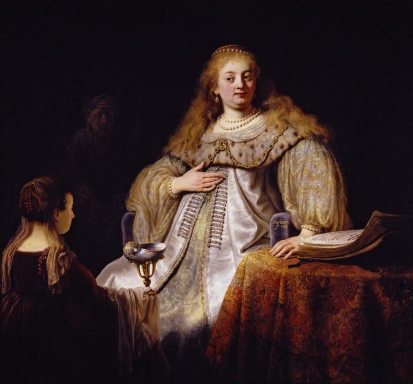 Рембрандт «Artemisia»