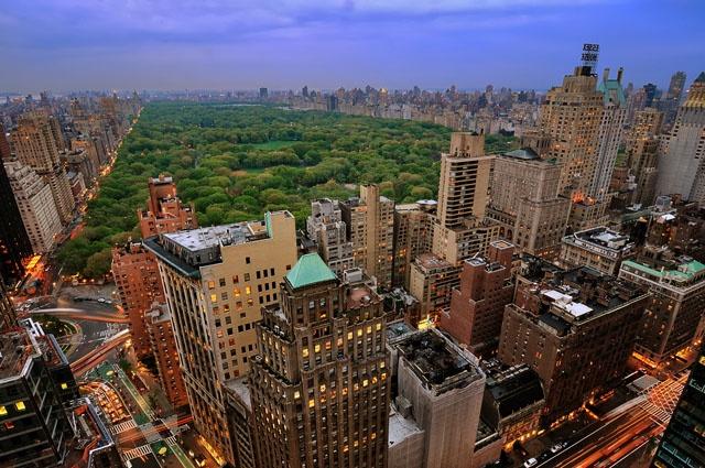 Центральный парк Нью-Йорка. Фото: www.americancities.ru