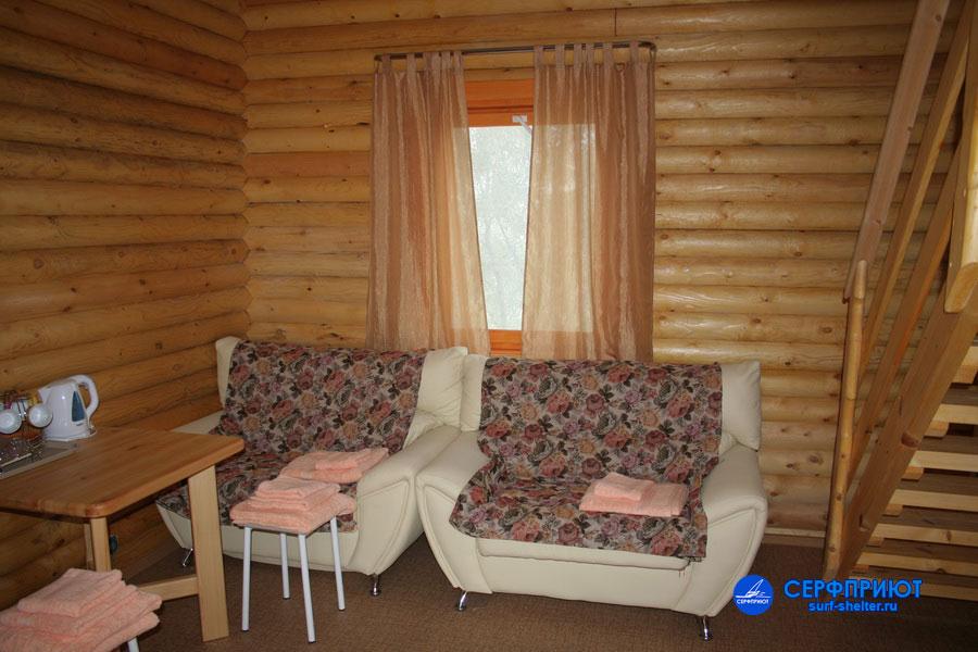 Номер «Люкс». Фото: www.surf-shelter.ru