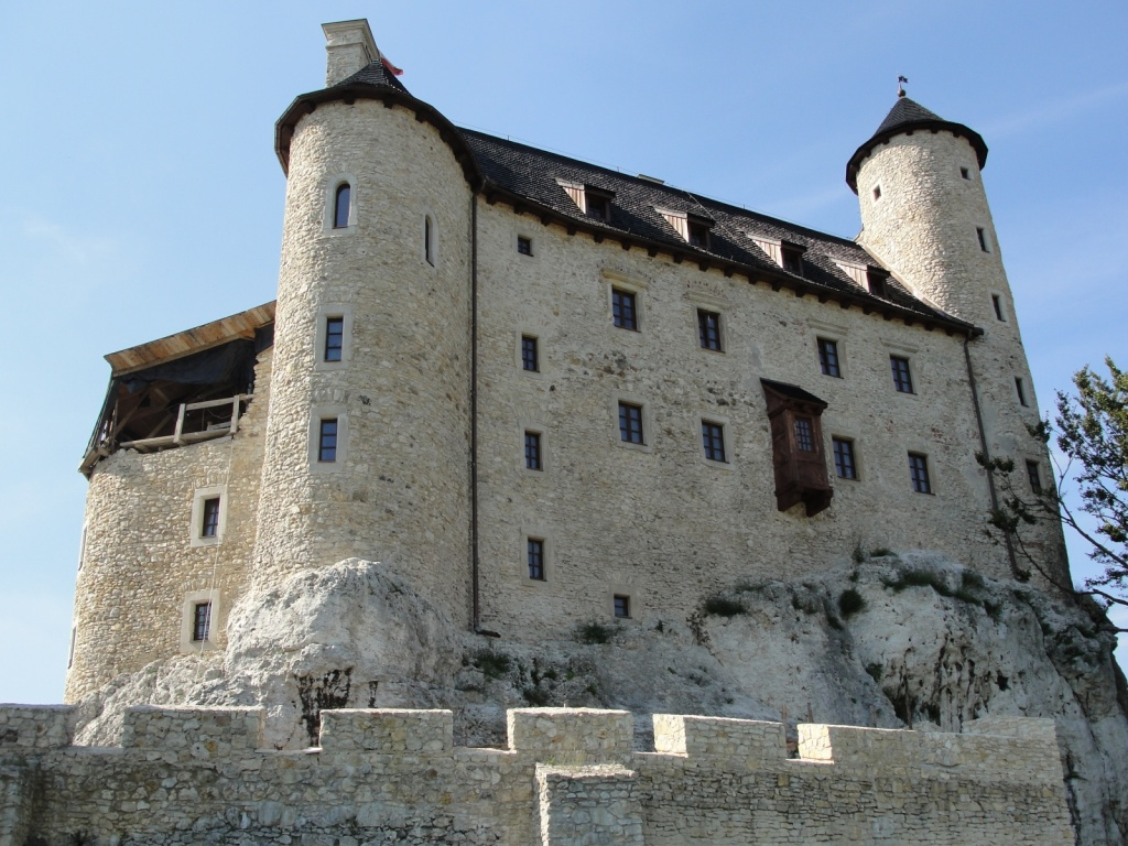 Королевский Замок в Боболице. Автор: Kravietz. Фото:   wikipedia.org