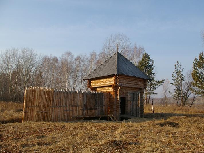 Реконструкция Умревинского острога. Фото: Мараев Валерий