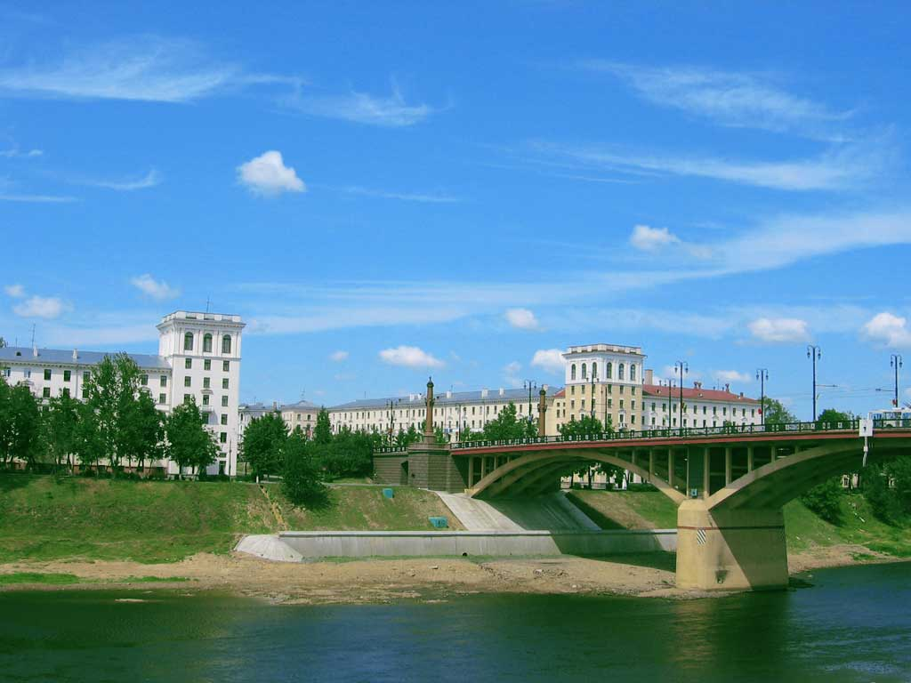 Витебск - город на Двине. Фото: globusbelarus.com