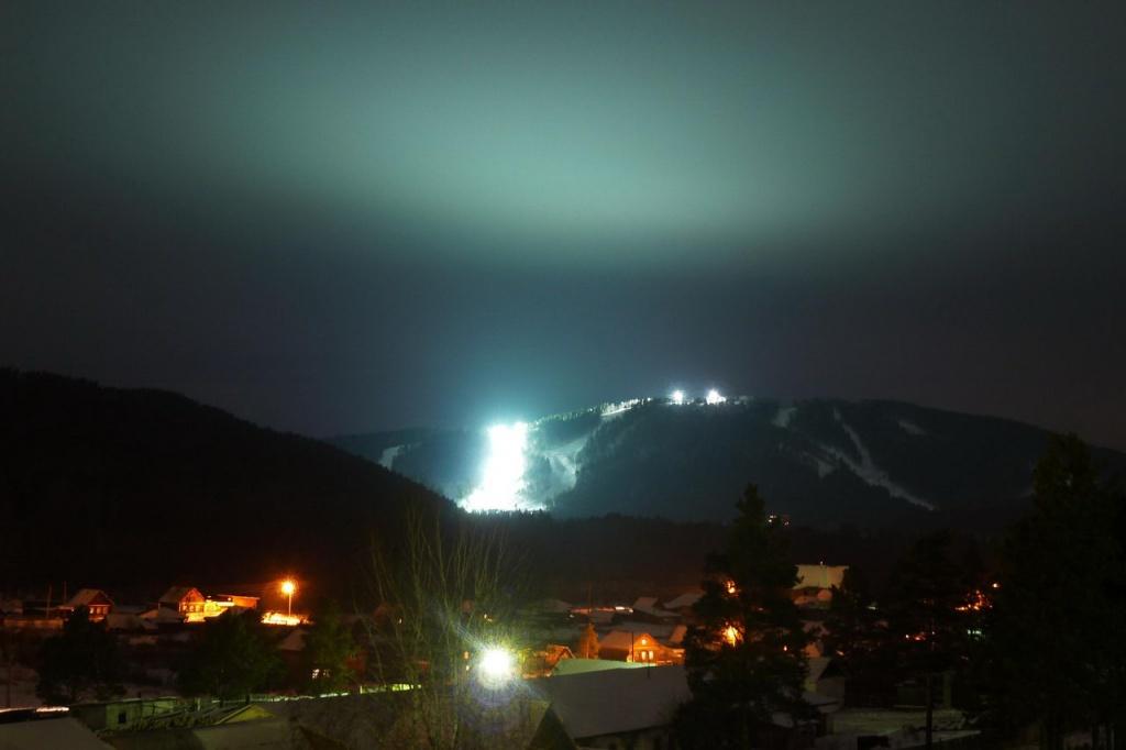 Ночная панорама Центра