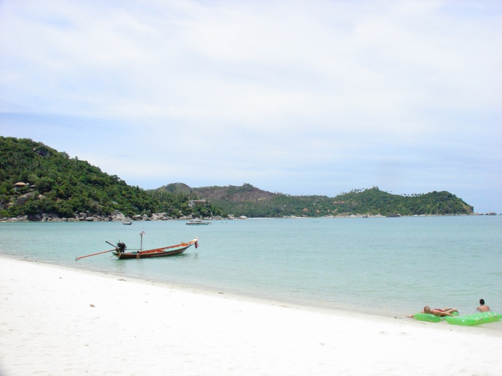 Пляж на острове Пханган. Фото: AndreevAV, wikipedia.org