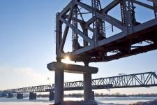 Железнодорожный мост, мемориальный комплекс