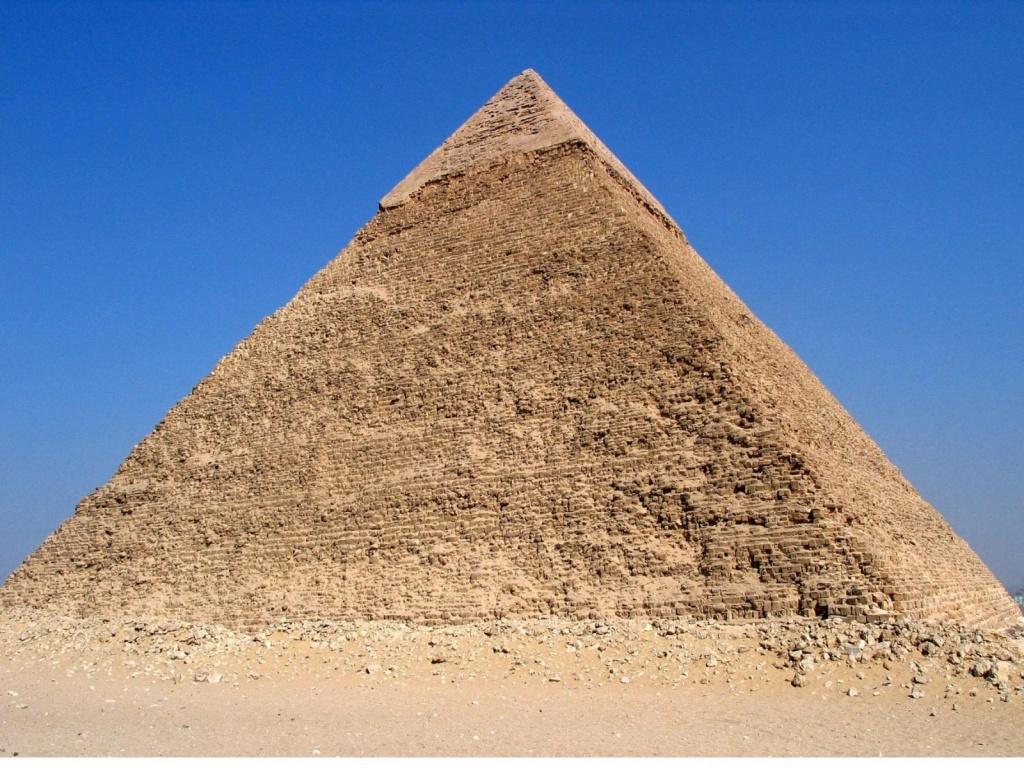 Пирамида Хеопса. Автор: Digr. Фото:  commons.wikimedia.org