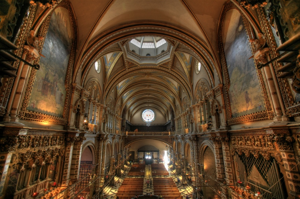 Интерьер базилики. Автор: Steve Jurvetson. Фото:  www.flickr.com