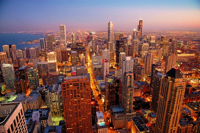 Даунтаун Чикаго.  Фото с сайта www.americancities.ru