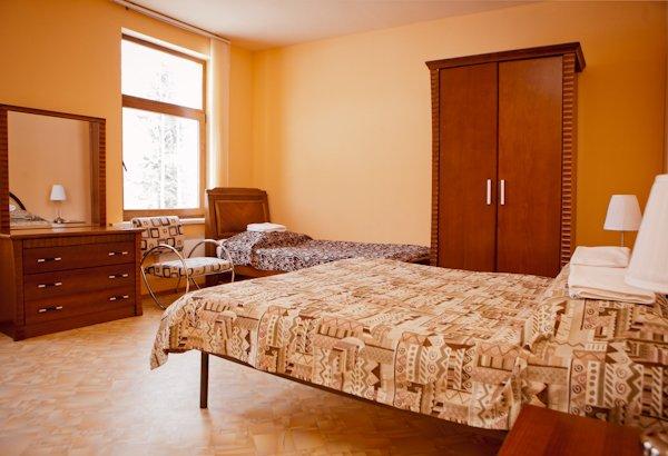 Комната в коттедже. Фото: www.wshotel.ru