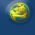 """Лого """"MegaTravel"""" горящие туры"""