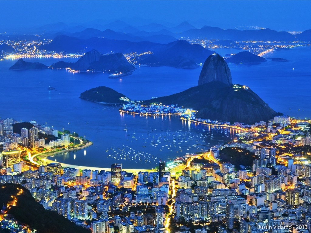 Рио-де-Жанейро. Автор: justin_vidamo. Фото:  www.flickr.com