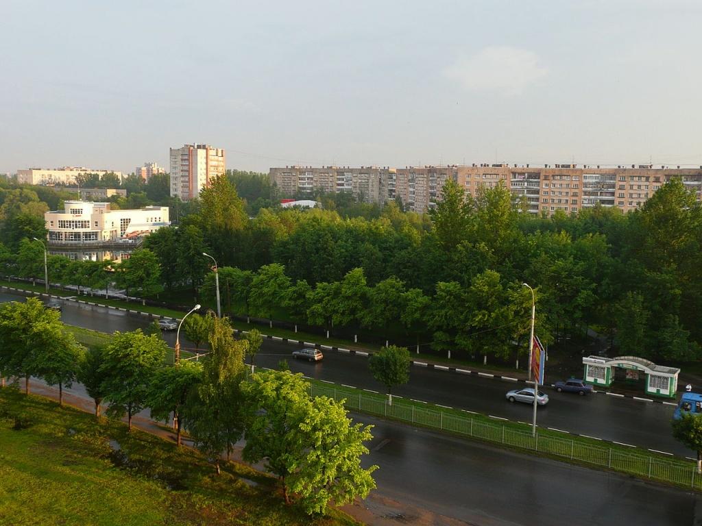 Ленинградский проспект в Ярославле. Автор: Ghirlandajo. Фото: wikimedia.org