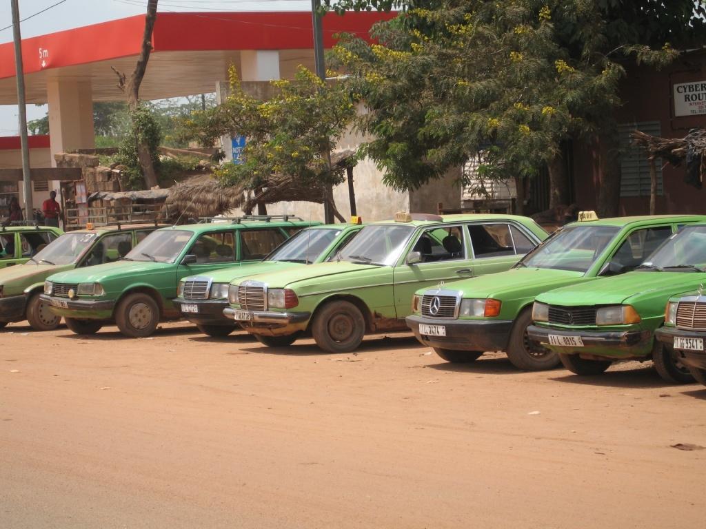 Такси в Уагадугу. Автор: Jurgen. Фото:  www.flickr.com