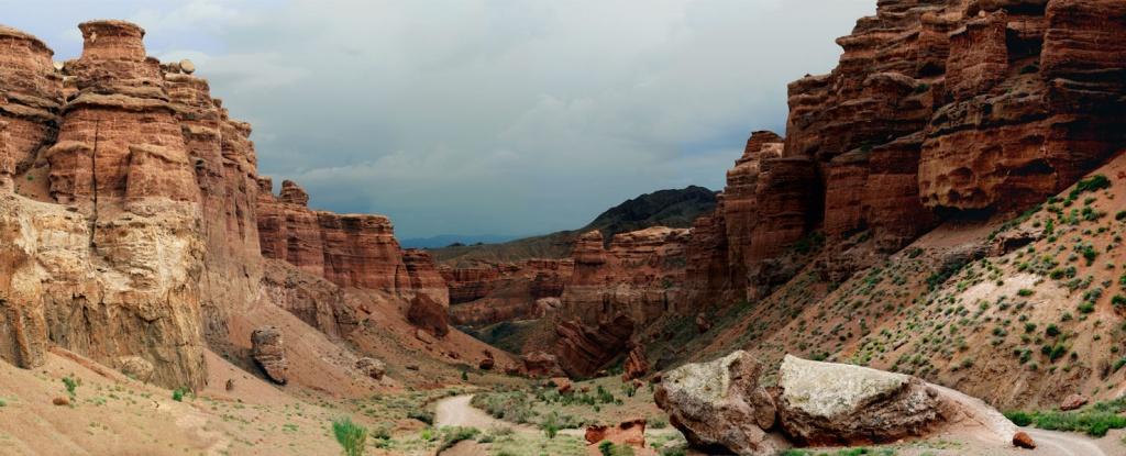 Панорама. Чарынский каньон. Фото: Википедия.