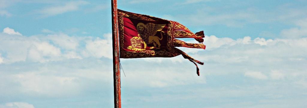 Флаг Венеции. Фото Анжелика Бондарь.