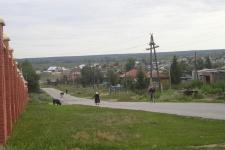 Поселок Колывань