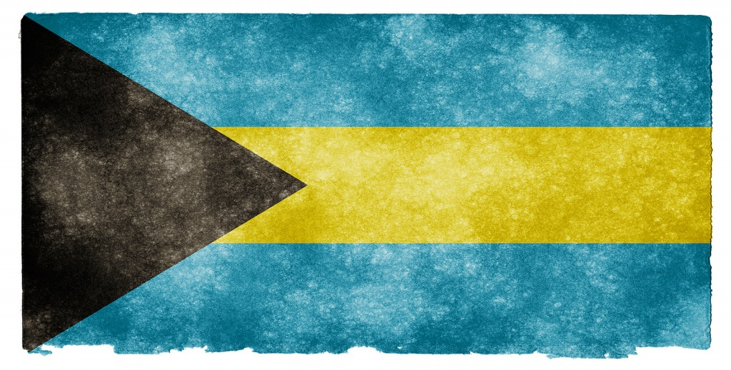 Флаг Багамских острова. Автор: Free Grunge Textures - www.freestock.ca. Фото:  www.flickr.com