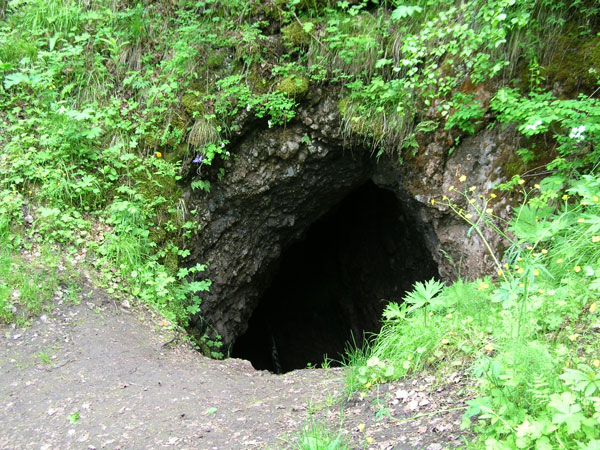 Вход в пещеру. Фото: www.doopt.ru