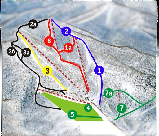Схема трасс. Фото с сайта adzhigardak.ru