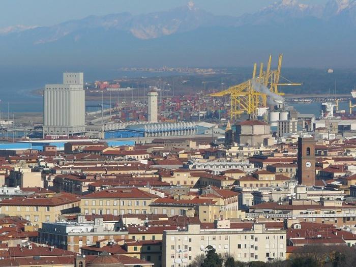 Панорама Ливорно. Фото:  Тонкости_туризма