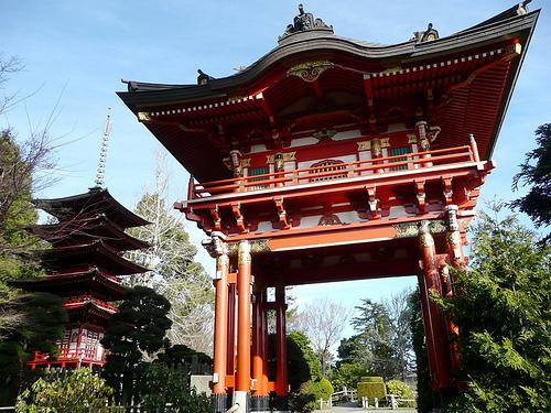 Японский чайный сад.  Фото: www.americancities.ru