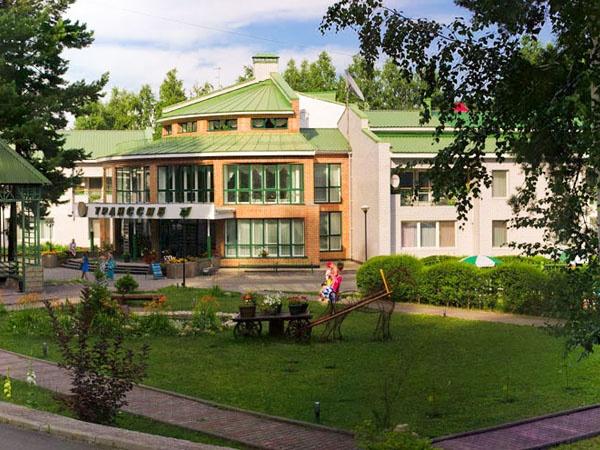 Фасад пансионата «Транссиб». Фото: belokuriha-online.ru