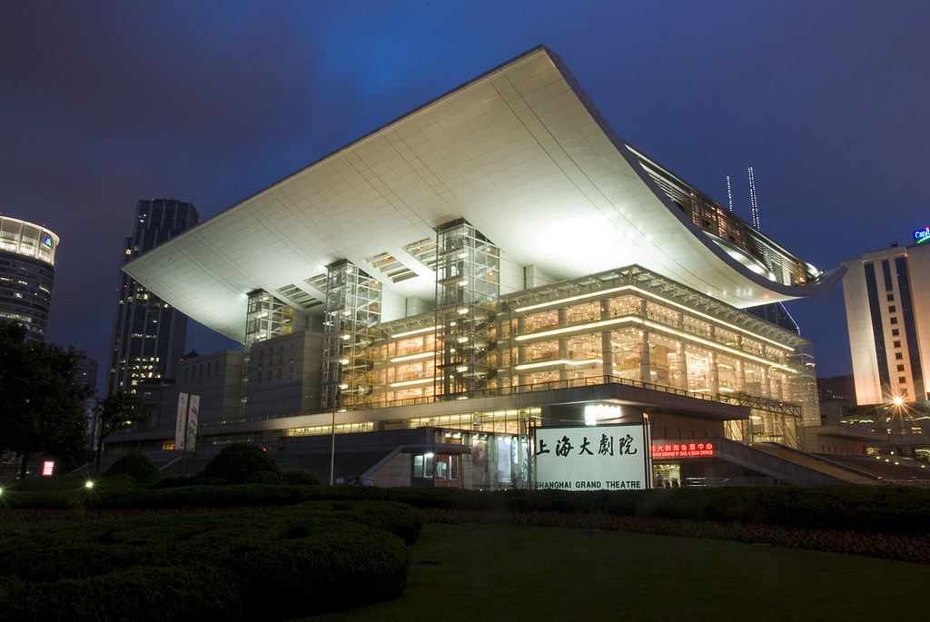Театр в Шанхае. Фото:  Tonkosti.ru