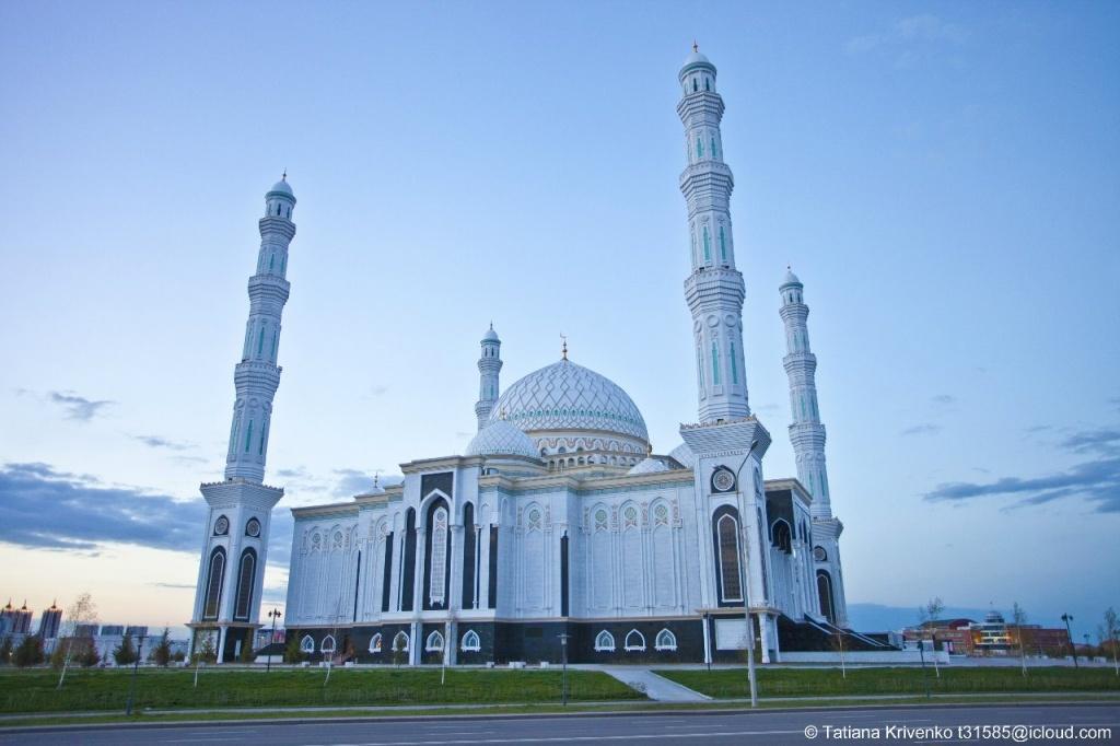 Мечеть «Хазрет Султан», г. Астана. Автор: Татьяна Кривенко
