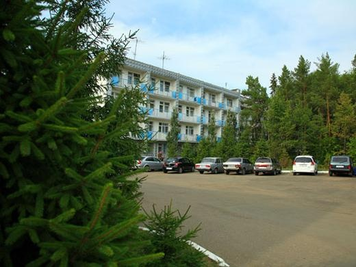 Корпус санатория-профилактория «Автомобилист». Фото: www.avtomobilist-omsk.ru