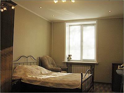 Люкс, спальня. Фото: www.kemhotel.ru