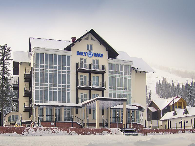 Здание гостиницы «Sky Way». Фото: skyway.su
