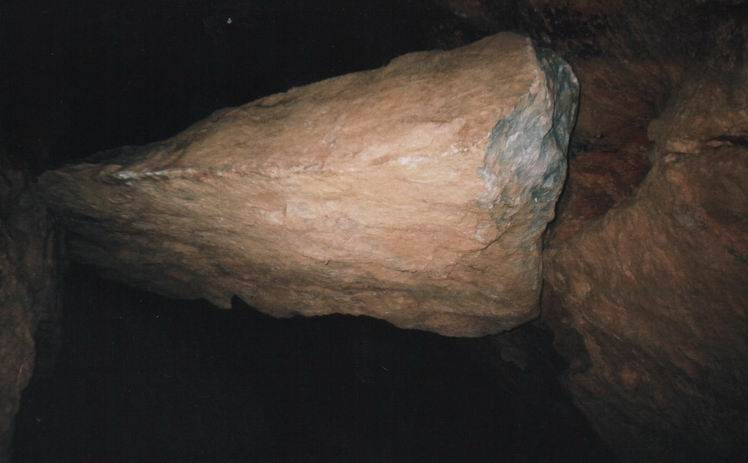Знаменитая глыба ''Тормозина''. Фото: www.sayanogorsk.info