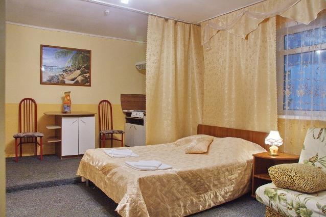 Трехместный номер. Фото: www.tetis-hotel.ru