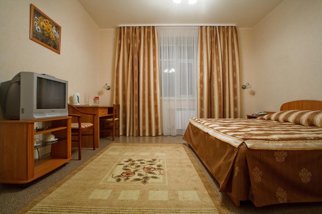 Двухместный улучшенный номер. Фото: www.sporthotel.tomsk.ru