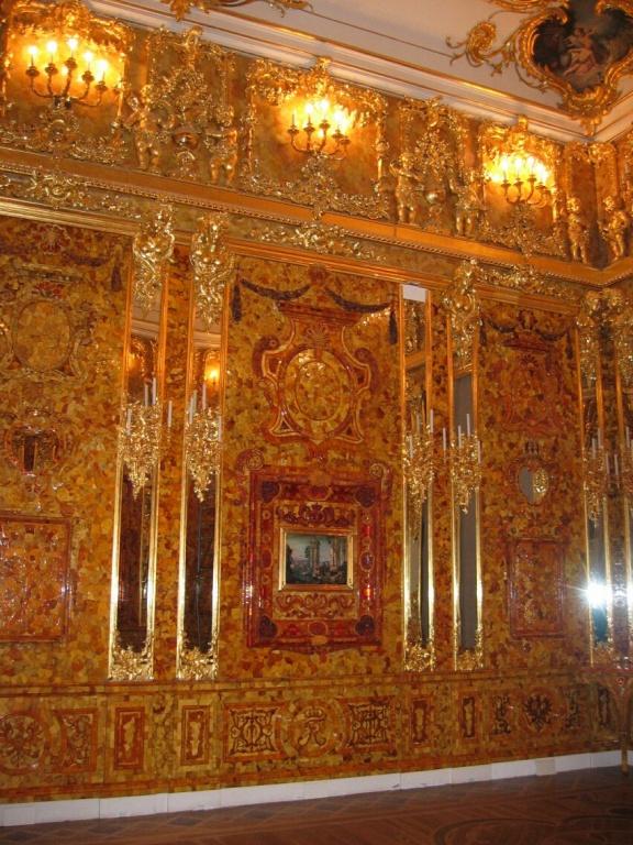 Янтарная комната. Автор: Georg Dembowski. Фото:   wikimedia.org