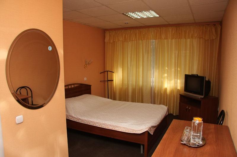 Одноместный улучшенный номер. Фото: hotel-kolos.ru