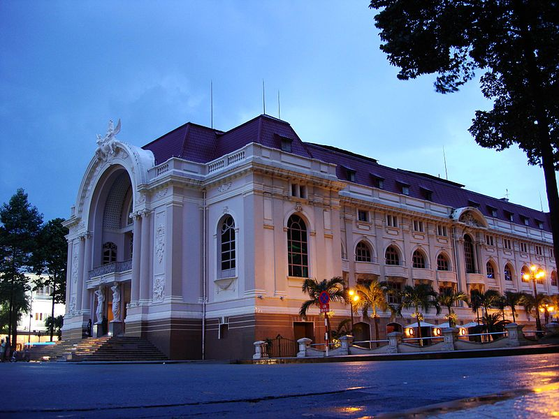 Здание Оперного театра. Фото:  Тонкости_туризма