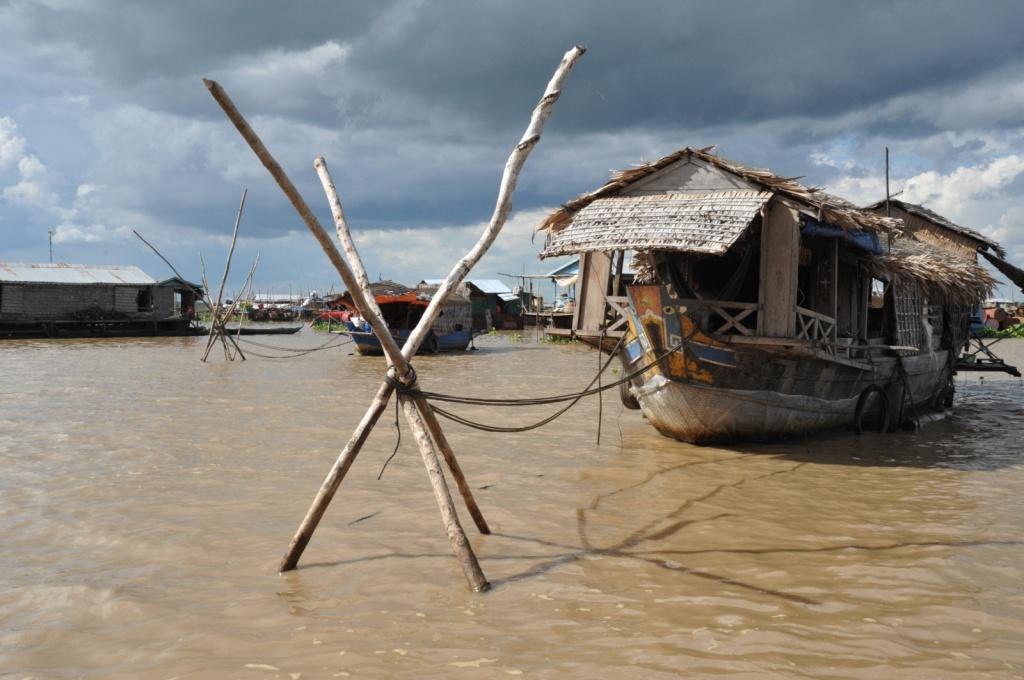 Озеро Тонлесап. Автор: emilio labrador. Фото:  www.flickr.com