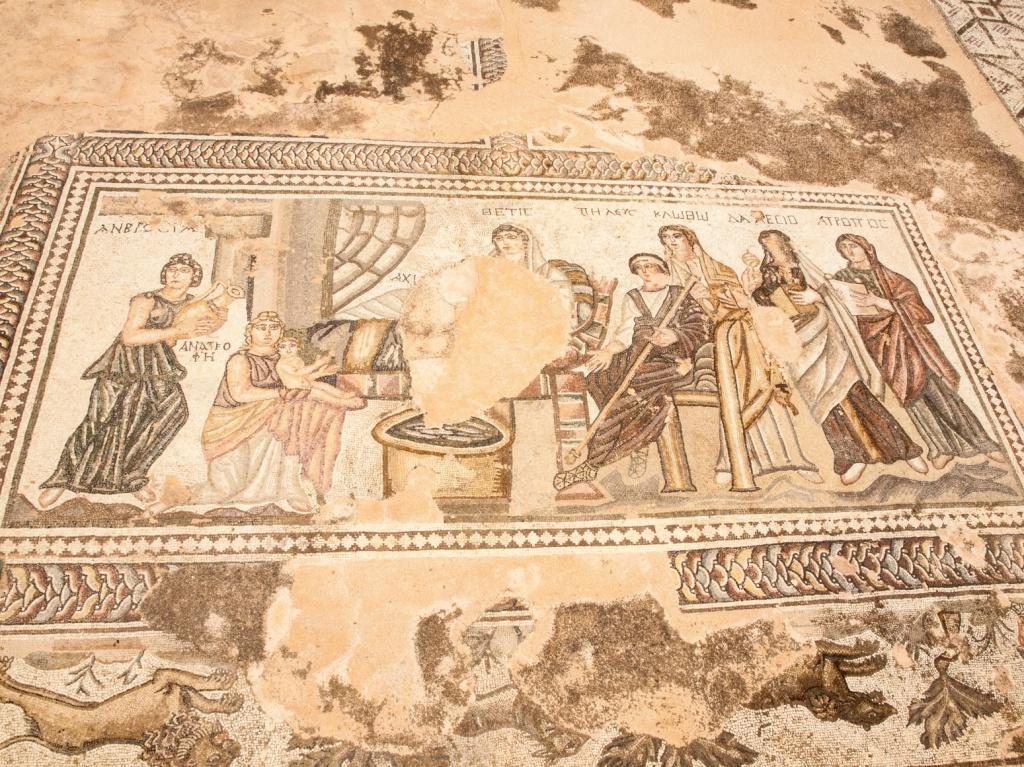 Мозаика «Рождение Ахилла». Автор: Martin Robson. Фото:  www.flickr.com
