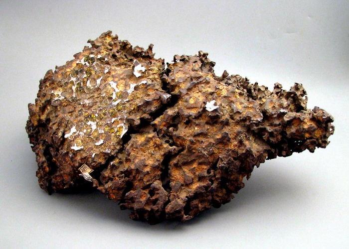 «Палласово железо». Фото с сайта www.museum.ru