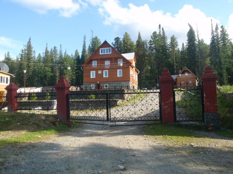 Вид на гостевой дом