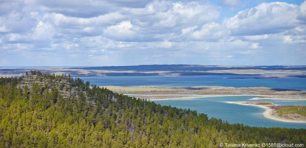 Голубой залив, озеро Боровое. Автор: Татьяна Кривенко