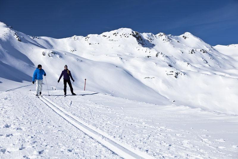 Катание на беговых лыжах, Krimml-Hochkrimml. Фото: www.zillertalarena.com