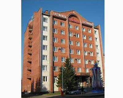 Фасад здания гостиницы. Фото: october.tomsk.gov.ru