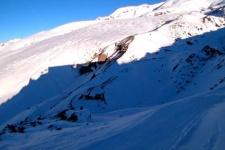 Станция Мир: вид на Эльбрус