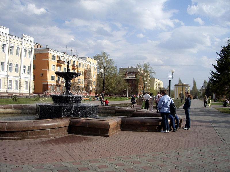 Тарская улица. Фото: Иван Ивченко.