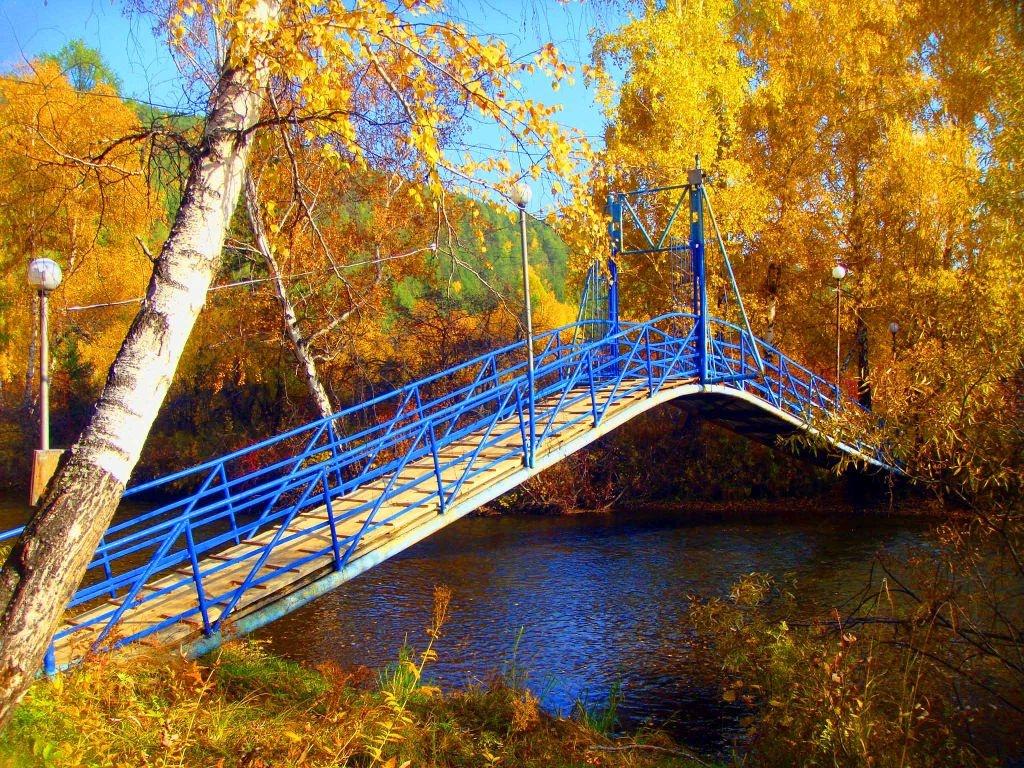 Мост через река Олха