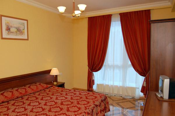 Номер «Комфорт». Фото: oasis-hotel.ru